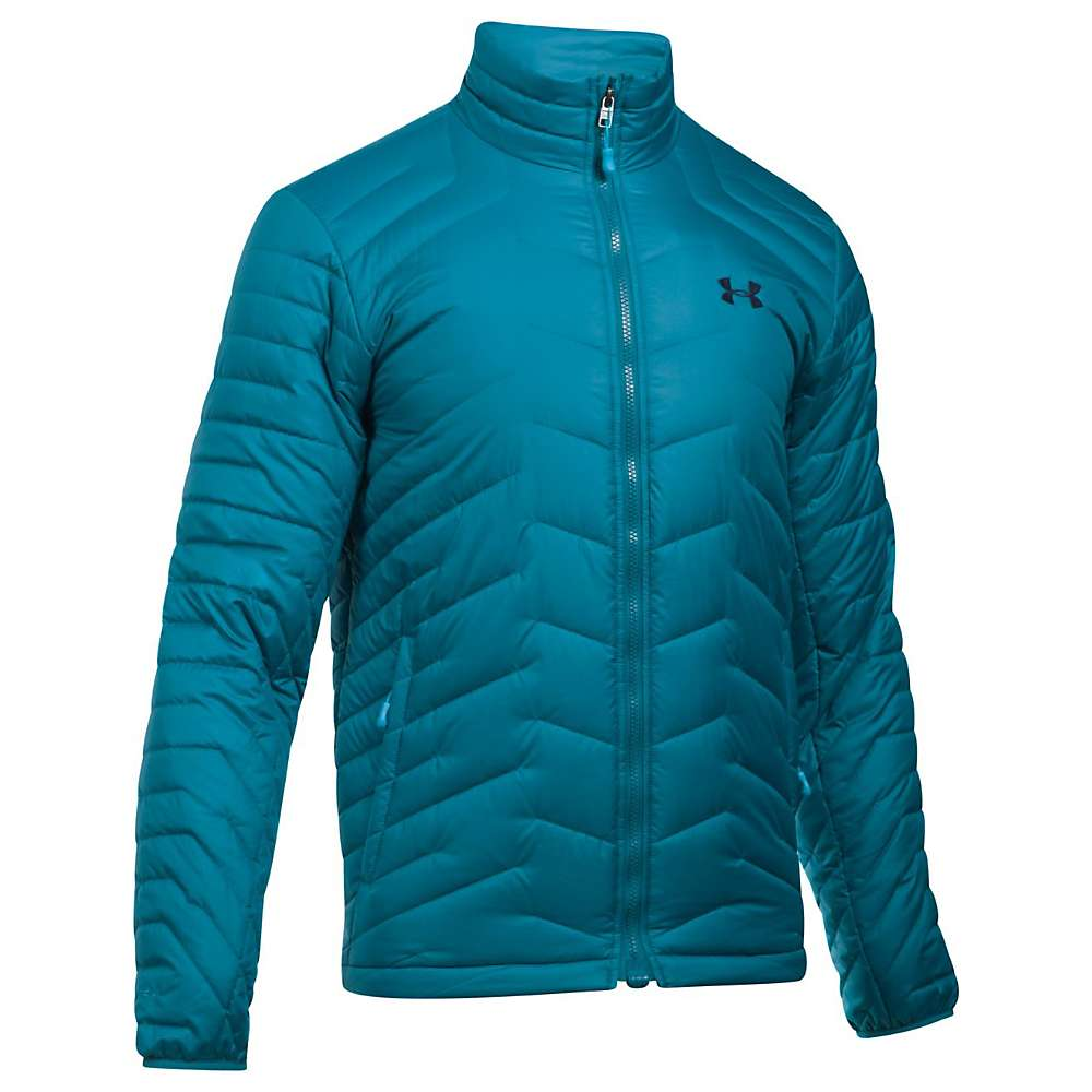 Under Armour Men's UA ColdGear Reactor Jacket - Medium - Bayou Blue / Blue Shift / Midnight Navy