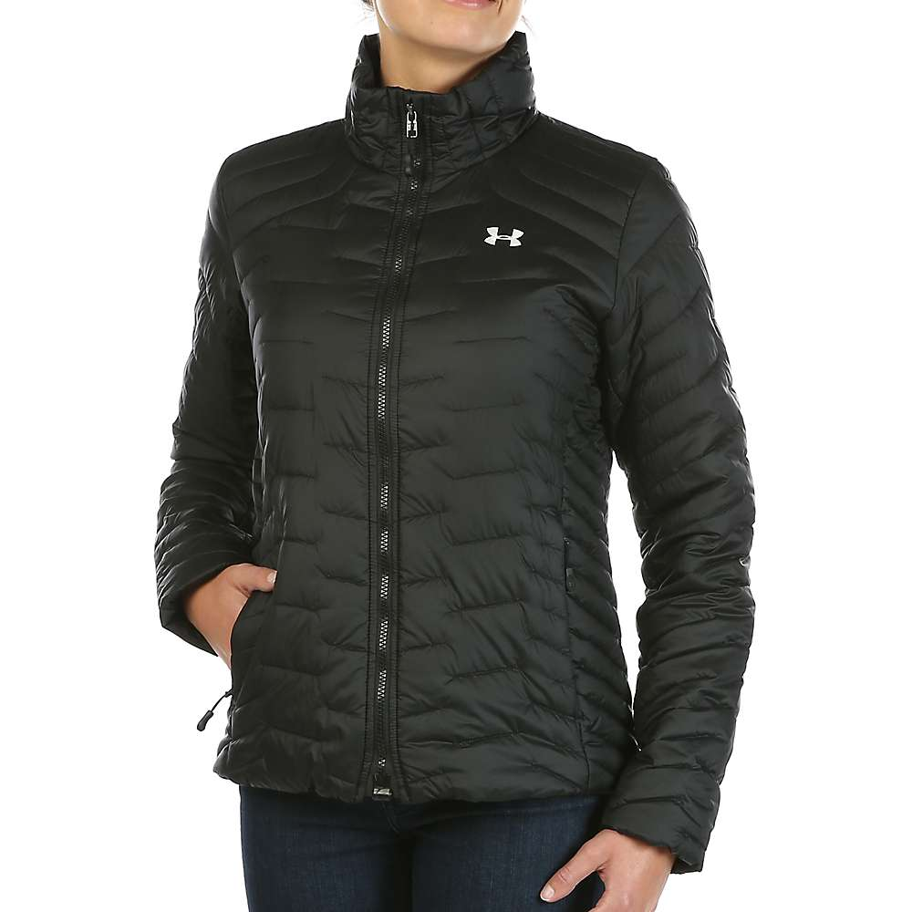 Under Armour Women's UA ColdGear Reactor Jacket - Medium - Black / Black / Glacier Grey