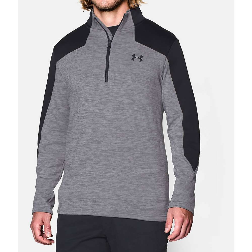 Under Armour Men's UA Expanse 1/4 Zip Top - XXL - True Grey Heather / Black