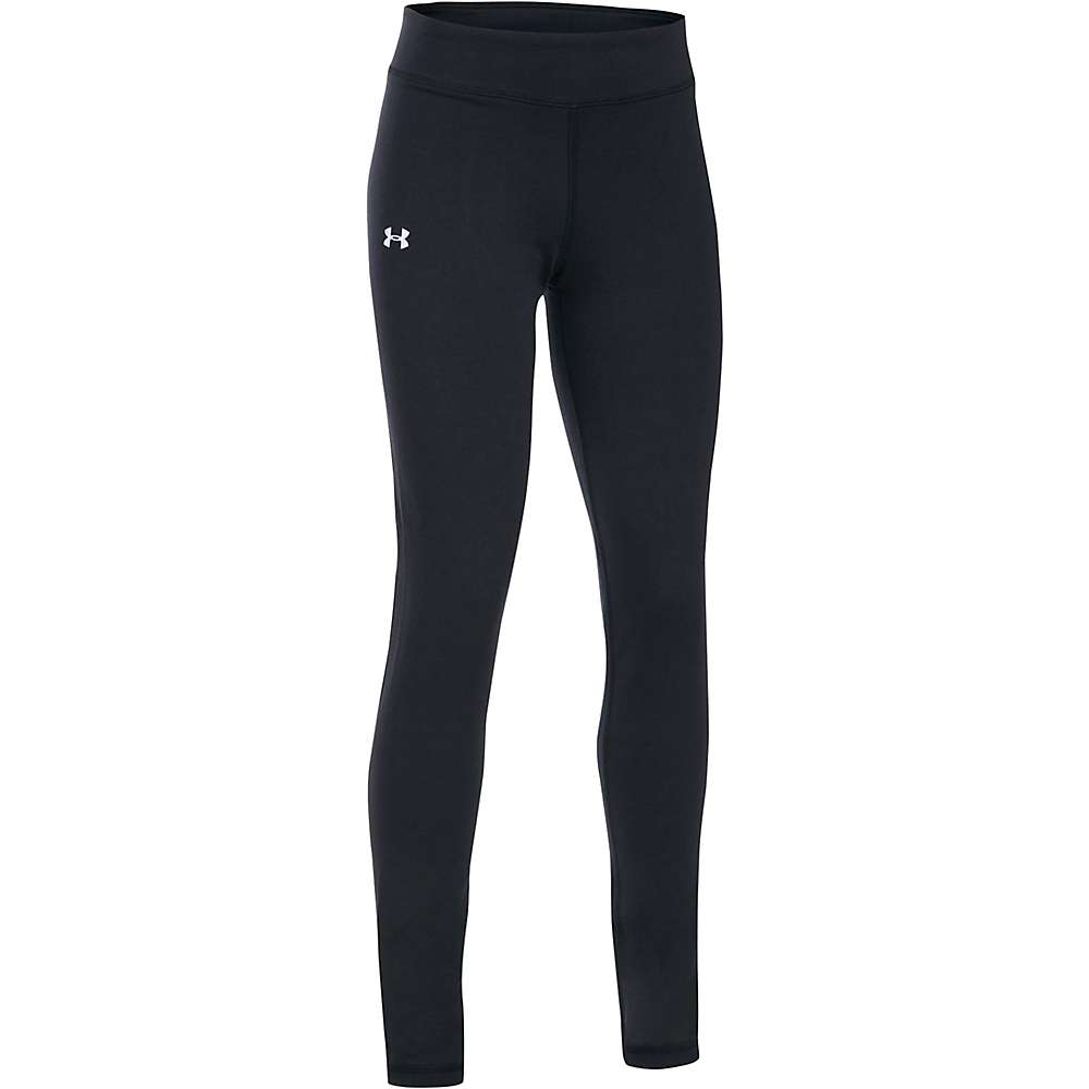 Under Armour Girls' UA Favorite Knit Legging - Small - Black / White