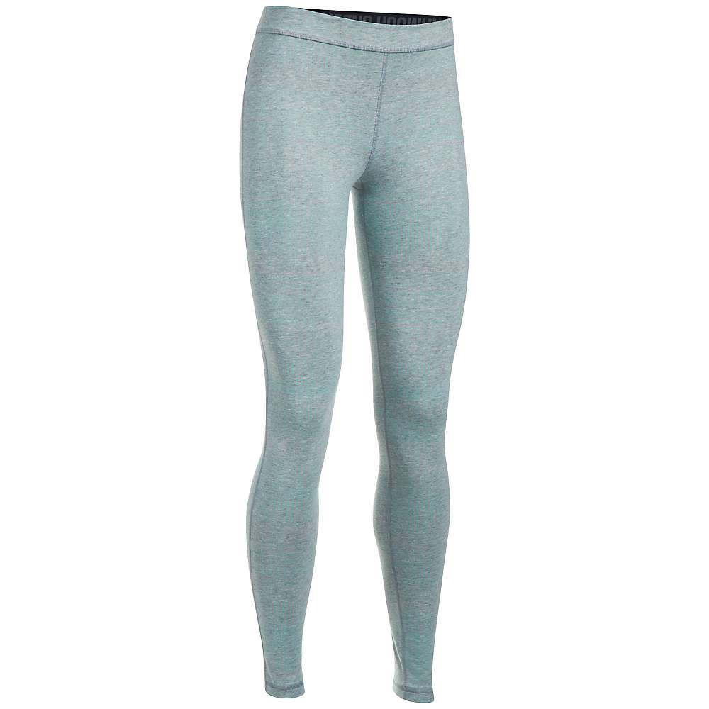 Under Armour Women's UA Favorite Printed Legging - Medium - True Grey Heather/Blue Infinity/Metallic Silver