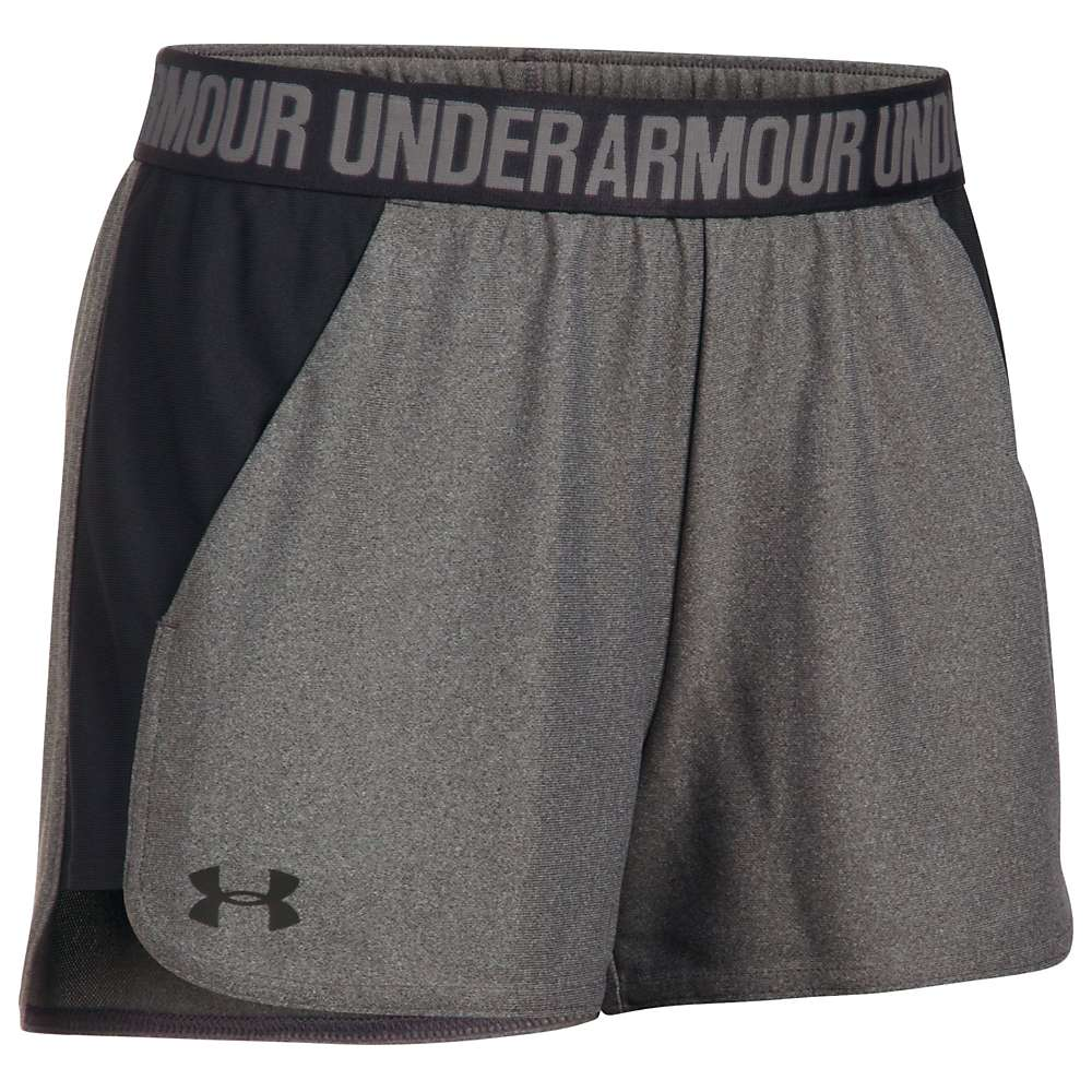 Under Armour Women's UA Play Up Short 2.0 - XL - Carbon Heather / Black / Black