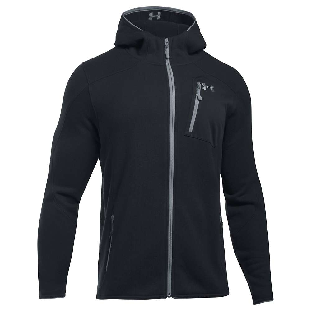 Under Armour Men's UA Specialist Hoodie - XL - Black / Steel