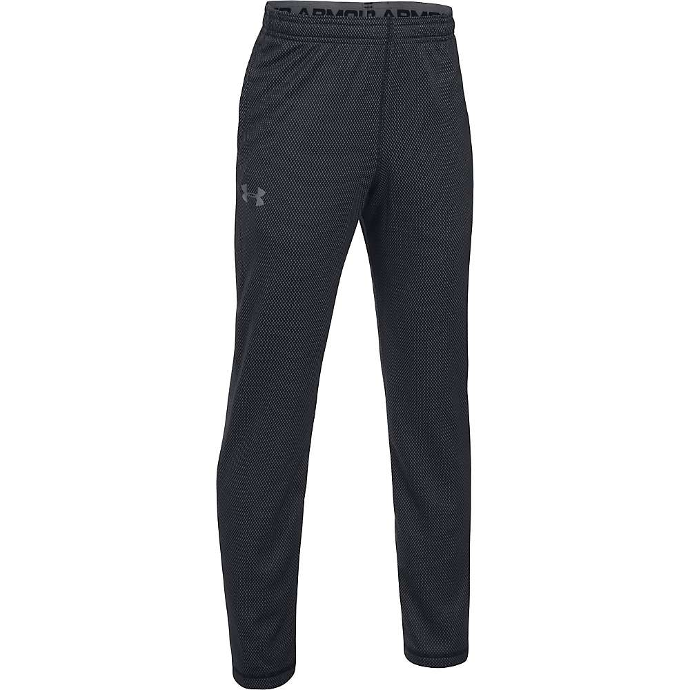 Under Armour Boys' UA Tech Pant - Small - Black / Graphite / Graphite