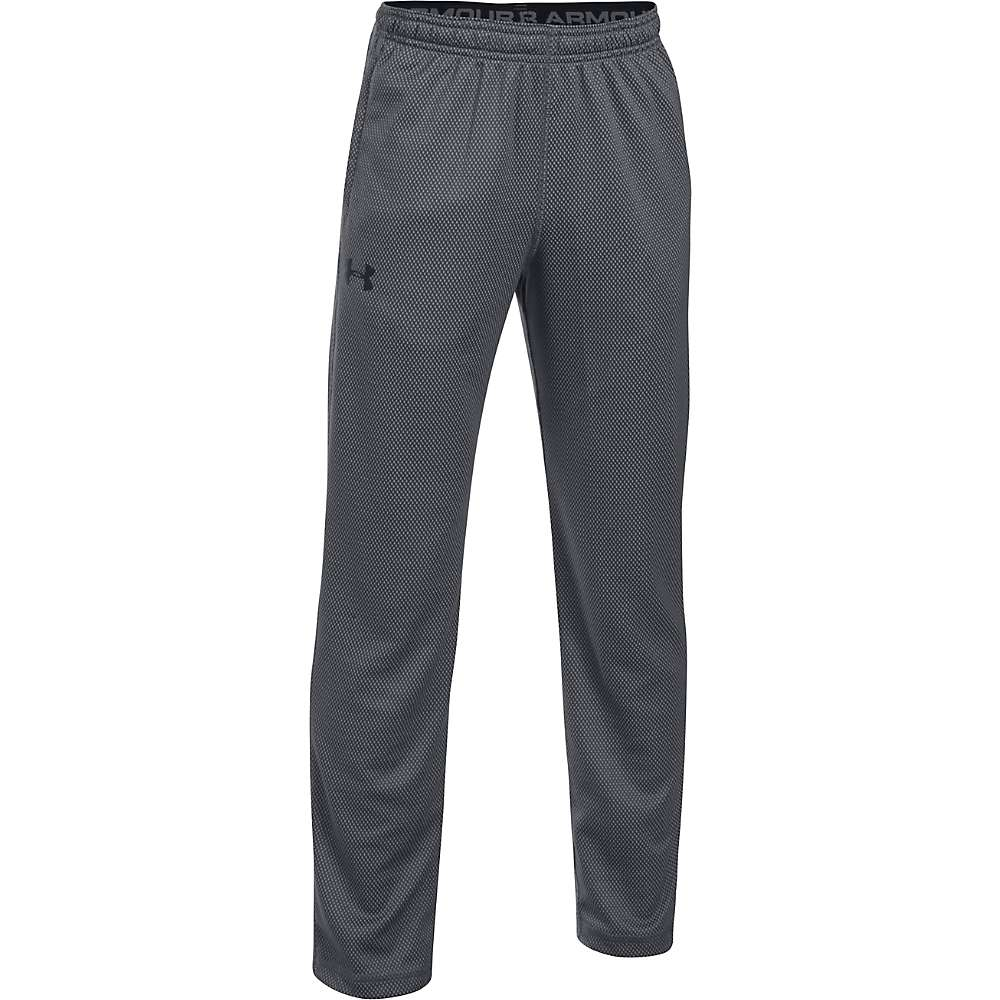 Under Armour Boys' UA Tech Pant - Small - Graphite / Black / Black