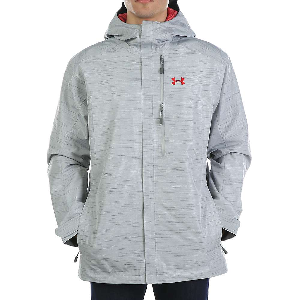 Under Armour Men's UA Timbr Jacket - XL - Overcast Grey / Red