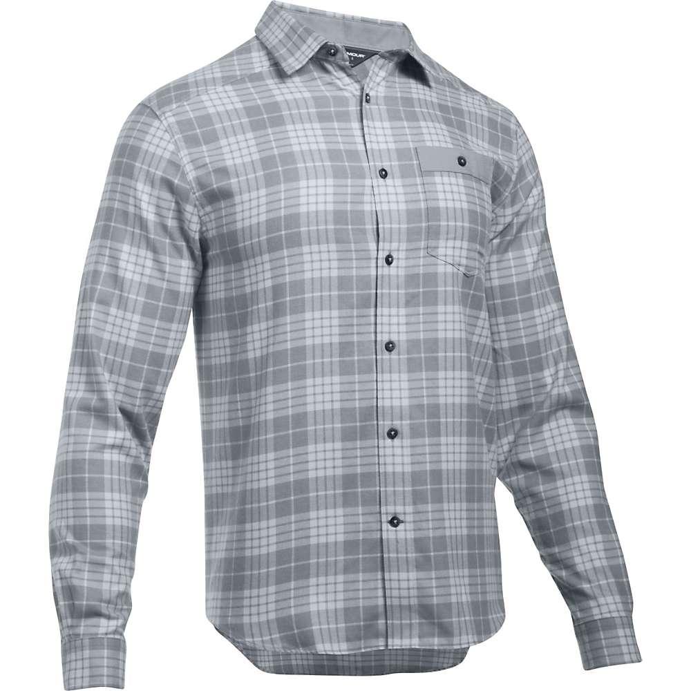 Under Armour Men's UA Tradesman Lightweight Flannel Shirt - XXL - Steel / Steel