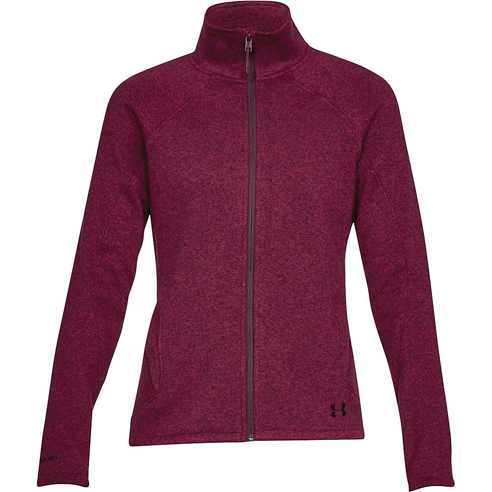 Under Armour Women's UA Wintersweet Jacket - Small - Black Currant / Raisin Red