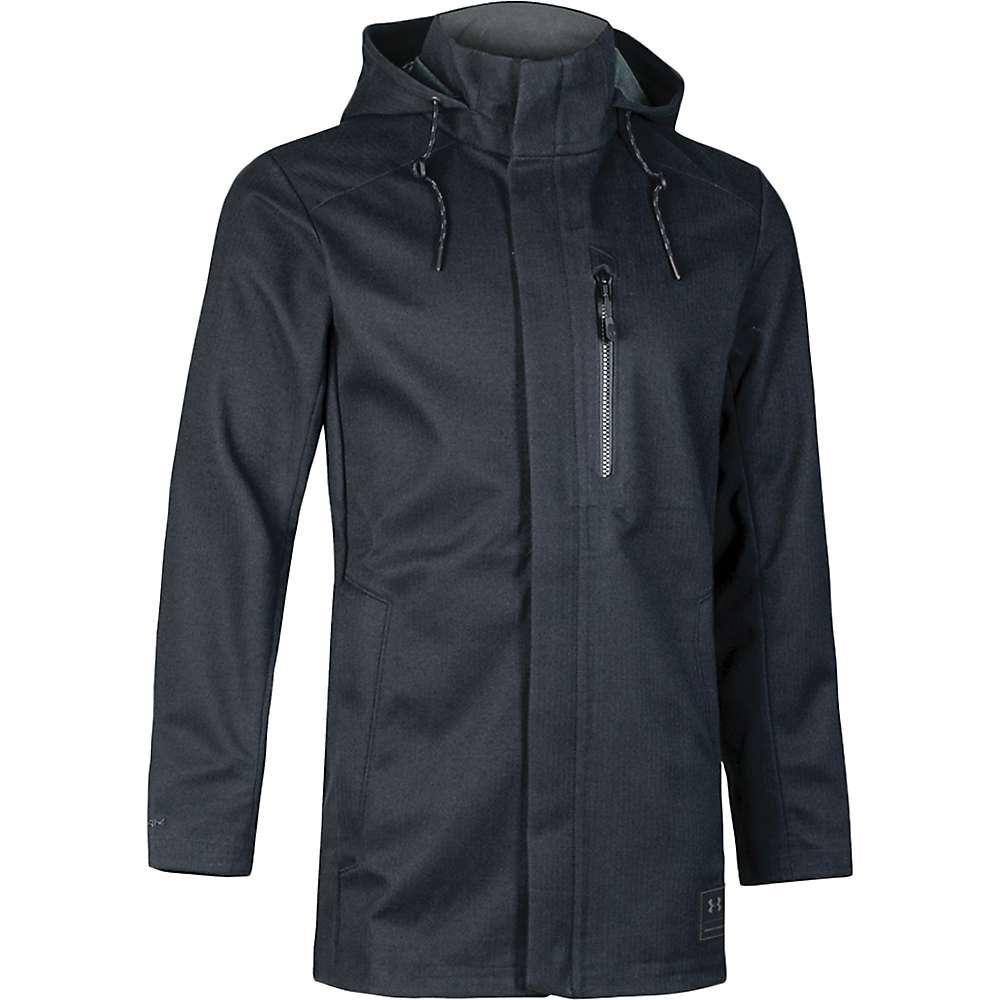 Under Armour Men's UA Wool Town Coat - XL - Black / Black