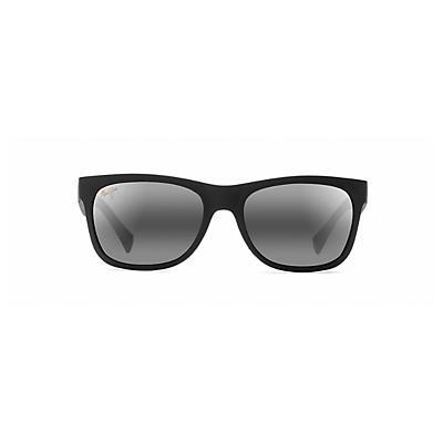 Maui Jim Kahi Polarized Sunglasses - Matte Black / Neutral Grey