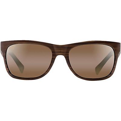 Maui Jim Kahi Polarized Sunglasses - Matte Brown Wood Grain / HCL Bronze