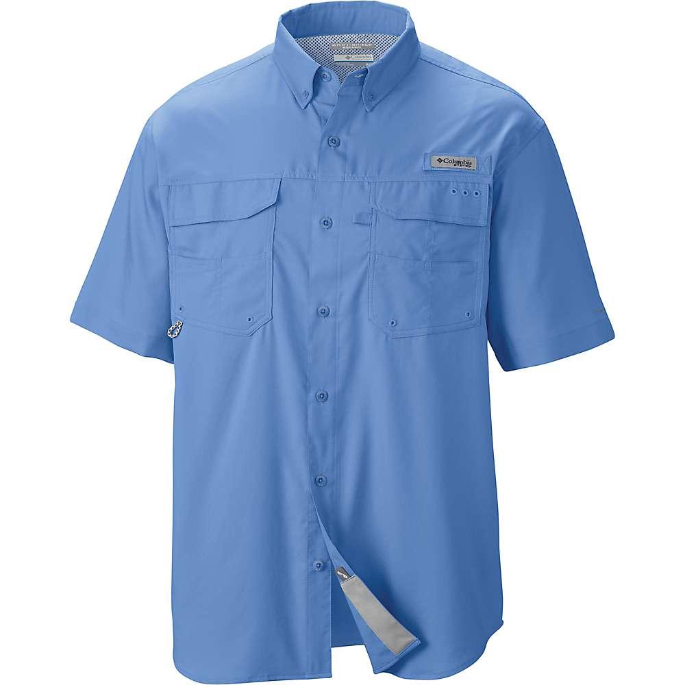 94d09cf467b 888458870853. Columbia Men's Blood And Guts III SS Woven Shirt - Medium -  White Cap