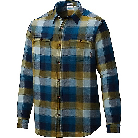 Columbia Men's Flare Gun Waffle Lined Flannel II Shirt Phoenix Blue Multi Plaid Columbia Men's Flare Gun Waffle Lined Flannel II Shirt - Phoenix Blue Multi Plaid - in stock now. FEATURES of the Columbia Men's Flare Gun Waffle Lined Flannel II Shirt Lined Button closure chest pocket