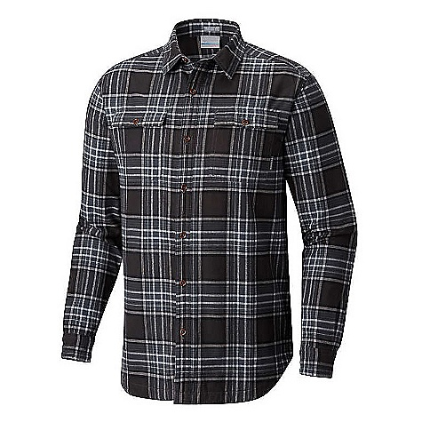 Columbia Men's Flare Gun Waffle Lined Flannel II Shirt Graphite Check Columbia Men's Flare Gun Waffle Lined Flannel II Shirt - Graphite Check - in stock now. FEATURES of the Columbia Men's Flare Gun Waffle Lined Flannel II Shirt Lined Button closure chest pocket