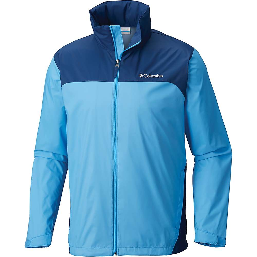 Columbia Men's Glennaker Lake Rain Jacket - 6X - Yacht / Carbon