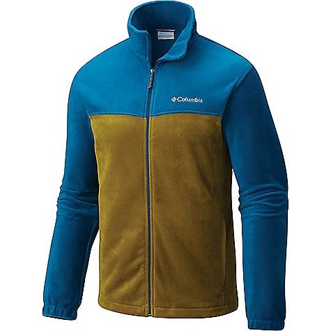 Columbia Men's Steens Mountain Full Zip 2.0 Jacket Phoenix Blue / Mossy Green