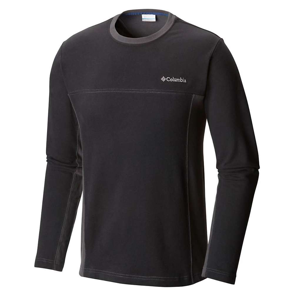 Columbia Men's Ward River Long Sleeve Shirt - Large - Black / Shark