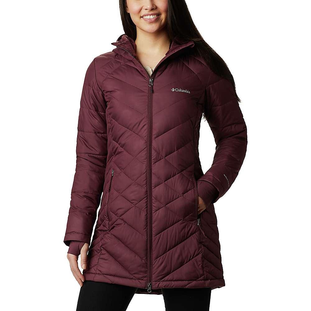 Cheap Columbia Womens Heavenly Long Hooded Jacket - 1X - Malbec