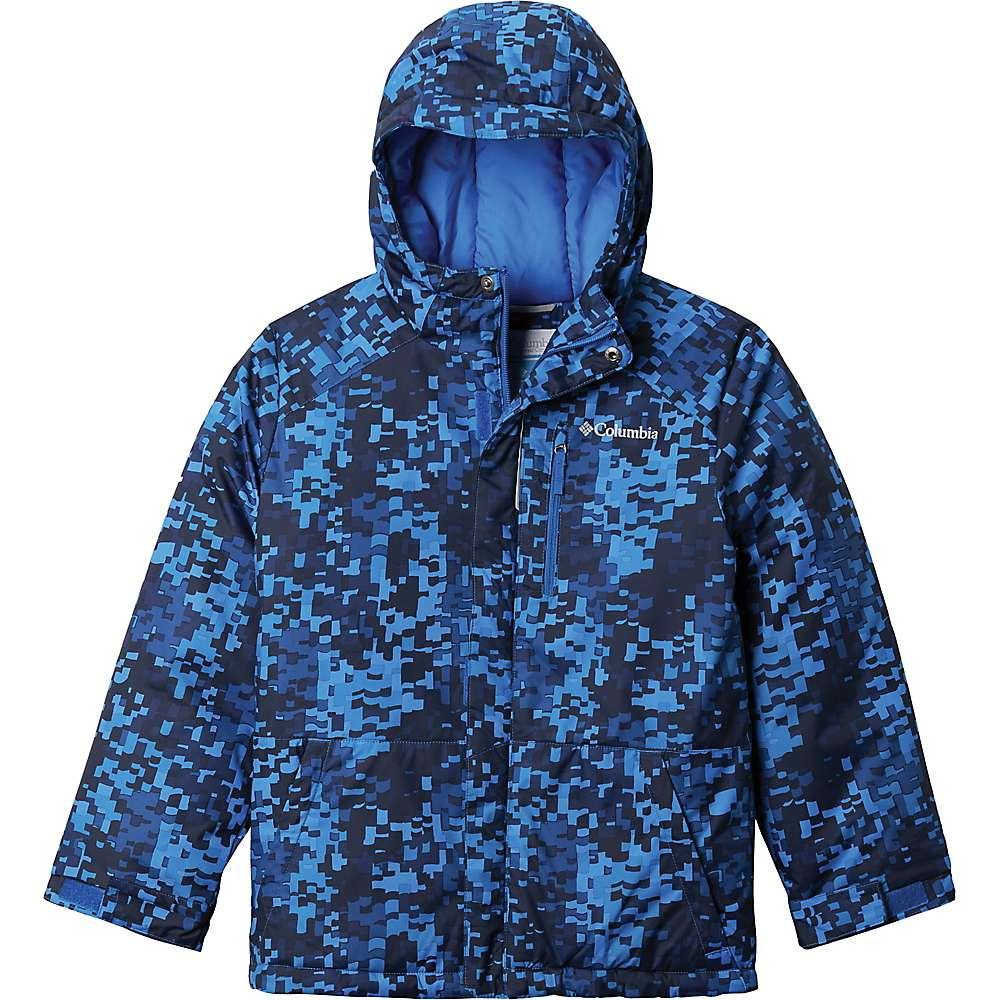 Reviews Columbia Toddler Boys Lightning Lift Jacket - 2T - Bright Indigo Weave Print
