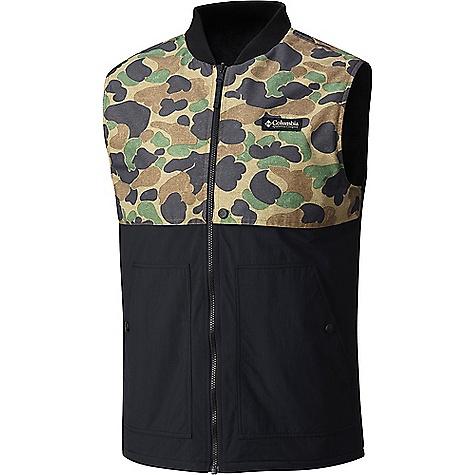 Columbia Men's Reversatility Vest Black / Buffalo Camo thumbnail