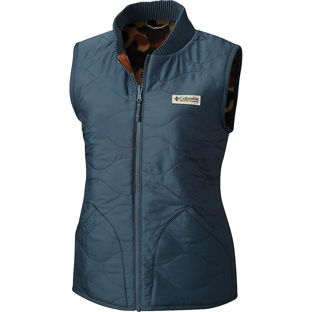 Columbia Women's Reversatility Vest – Small – Mystery / Buffalo Camo
