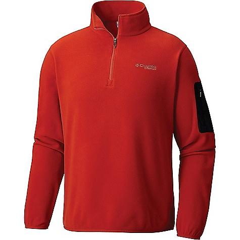 Columbia Titanium Titan Pass 1.0 Half Zip Fleece Jacket