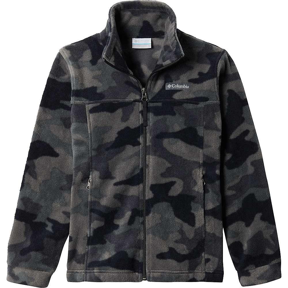 Promos Columbia Toddler Boys Zing III Fleece Jacket - 2T - Black Trad Camo Print