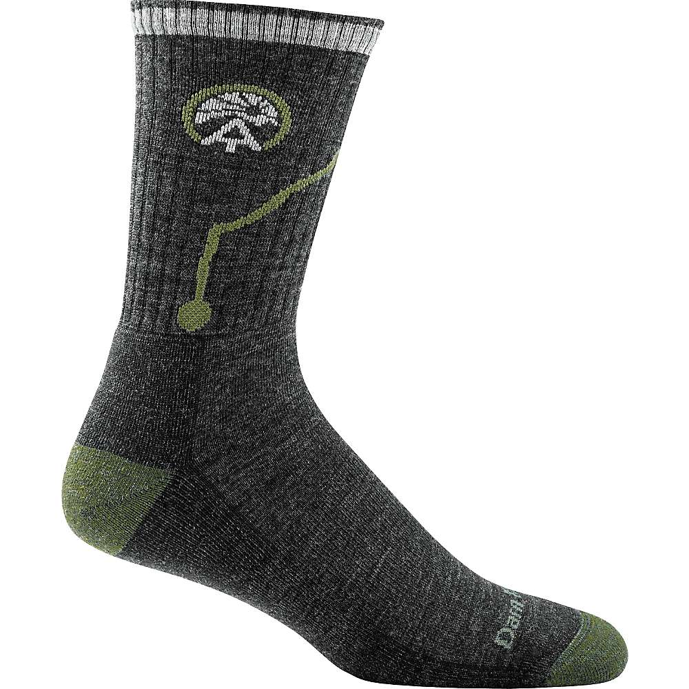 Darn Tough Men's ATC Micro Crew Cushion Sock - XL - Charcoal