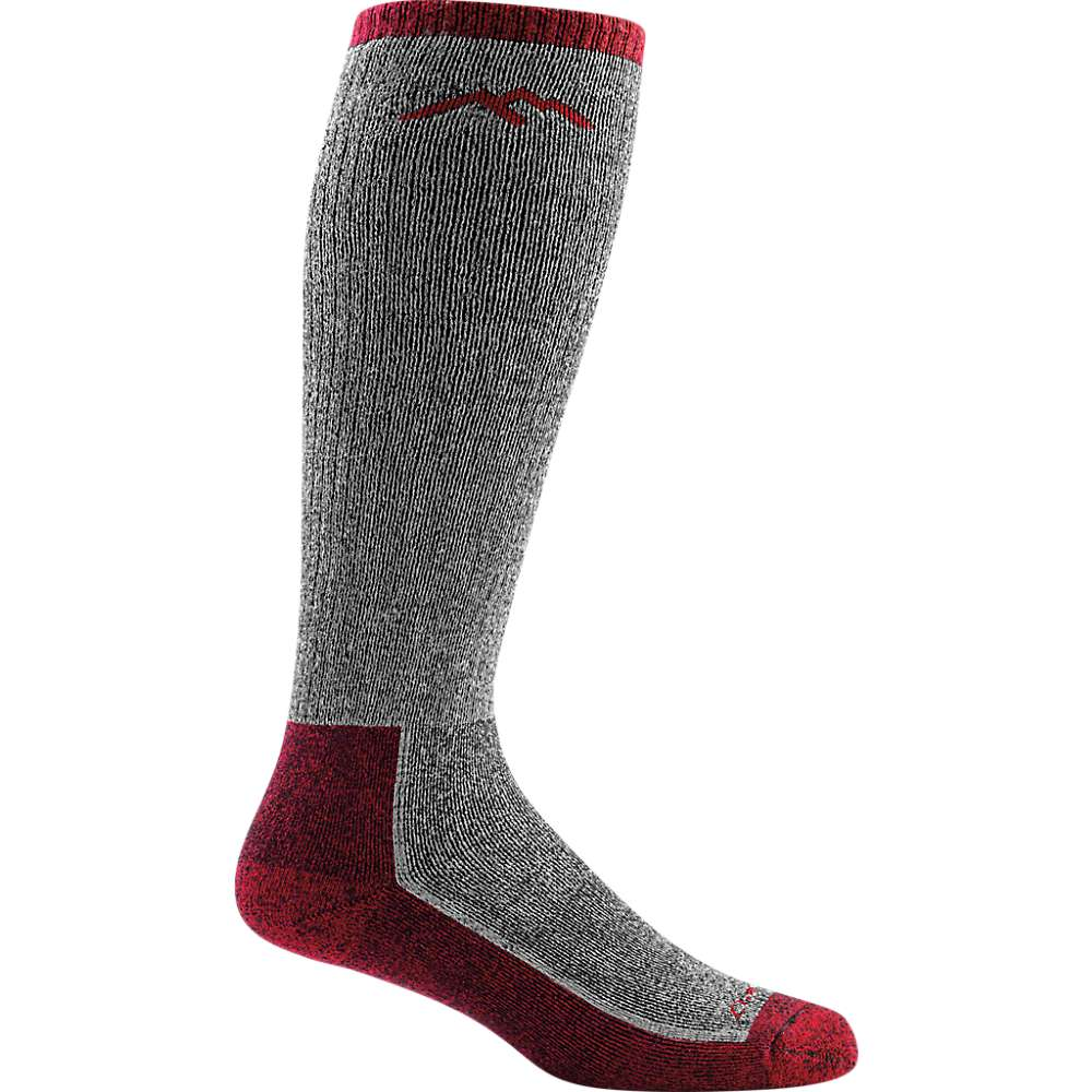 Darn Tough Men's Mountaineering Over-the-Calf Extra Cushion Sock - XL - Smoke