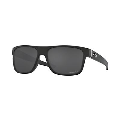 Oakley Crossrange Polarized Sunglasses - Matte Black/Prizm Black Polarized
