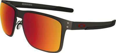 Oakley Holbrook Metal Polarized Sunglasses - One Size - Matte Gunmetal / Torch Iridium Polarized