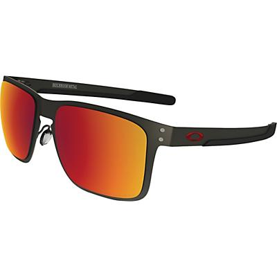 Oakley Holbrook Metal Polarized Sunglasses - Matte Gunmetal / Torch Iridium Polarized