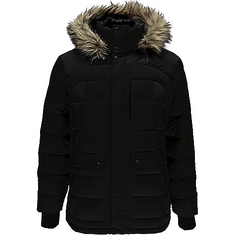 Spyder Men's Garrison Faux Fur Jacket 3865084
