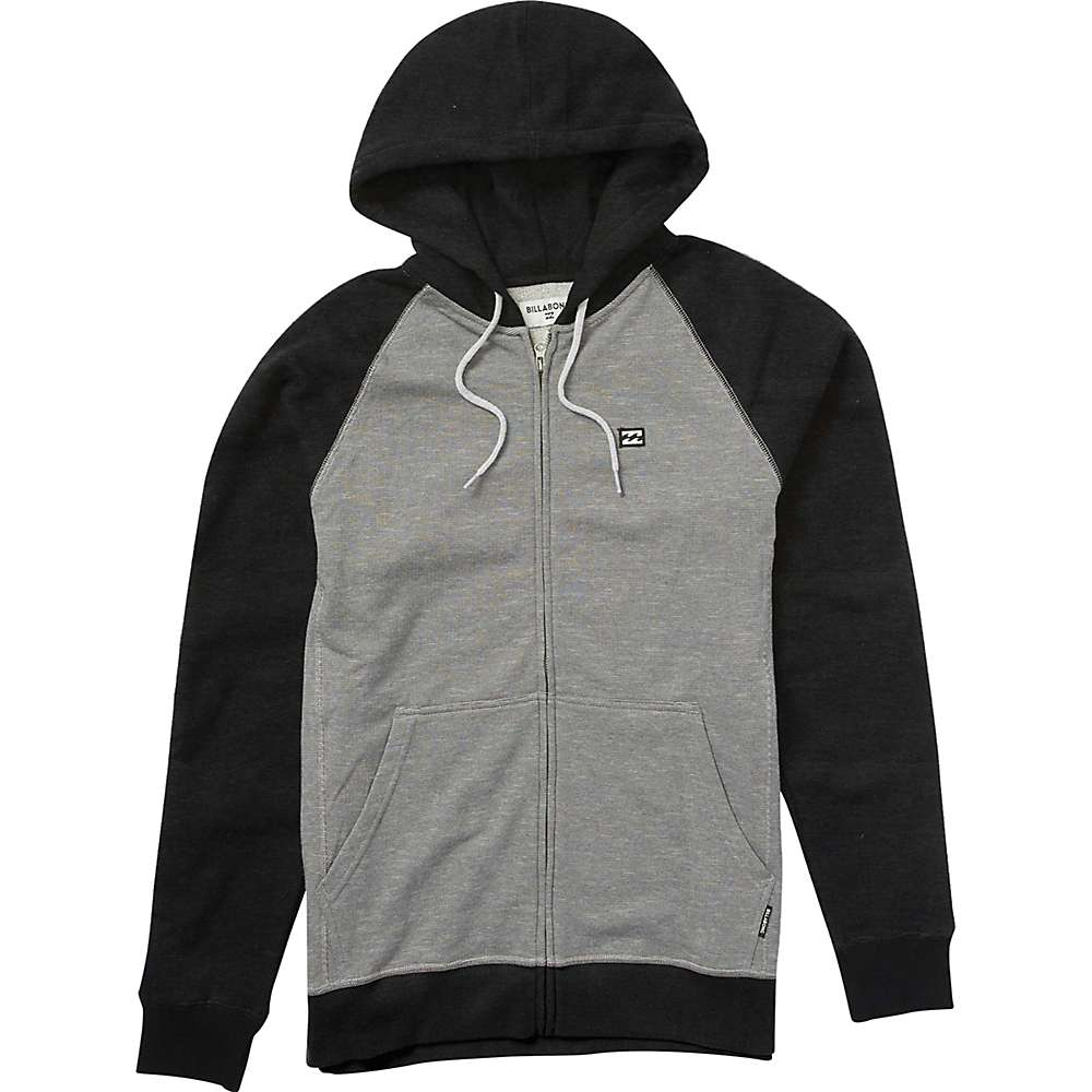 Billabong Men's Balance Zip Hoody - XL - Black Heather