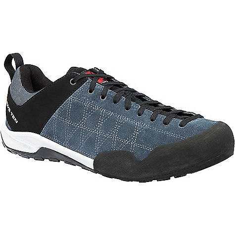 Five Ten Men's Guide Tennie Shoe Gun / Metal Five Ten Men's Guide Tennie Shoe - Gun / Metal - in stock now. FEATURES of the Five Ten Men's Guide Tennie Shoe Bovine Suede/Synthetic Upper Full-length lace closure system Polyester textile lining Compression molded EVA midsole Hand beveled Climbing Zone™ Stealth® C4™ rubber outsole