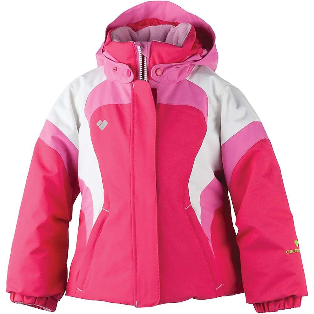 Obermeyer Girls' Alta Jacket - 6 Regular - Smitten Pink