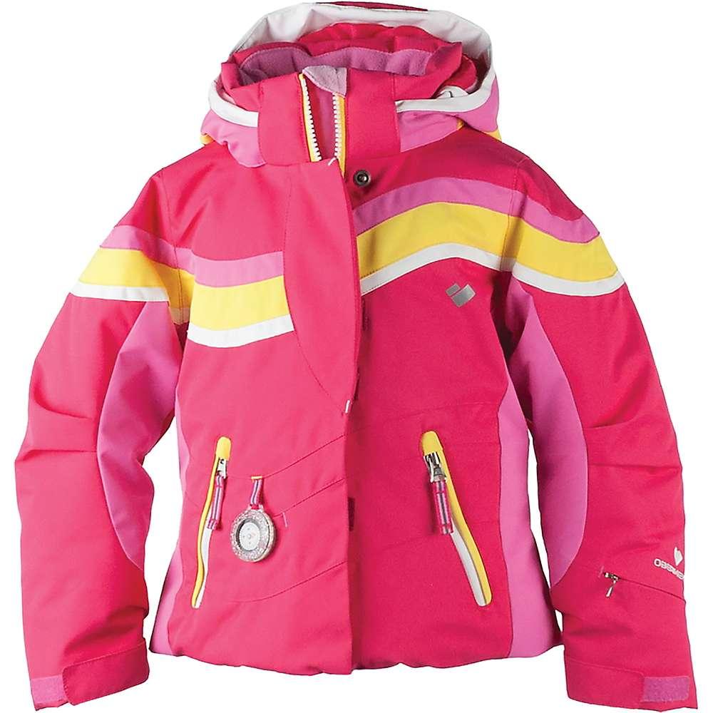 Obermeyer Girl's North-Star Jacket - 6 Regular - Smitten Pink