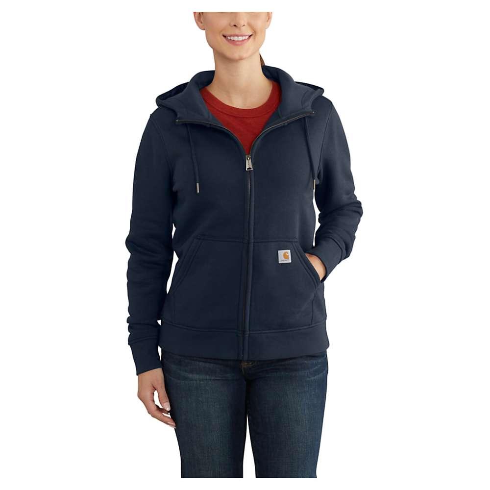 Carhartt Women's Clarksburg Full Zip Hoodie - XL - Navy