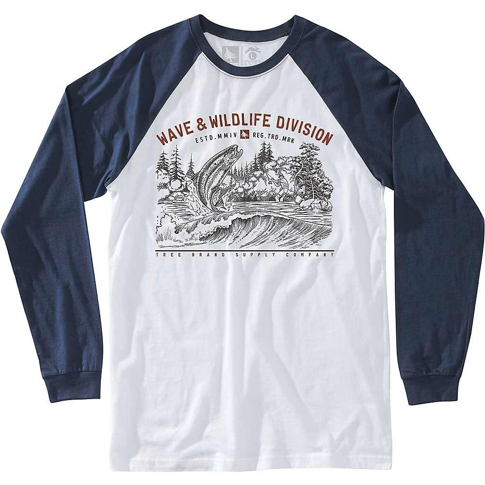 HippyTree Men's Bait LS Tee - Large - Navy