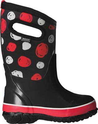 Bogs Youth Classic Sketched Dots Boot - Black Multi