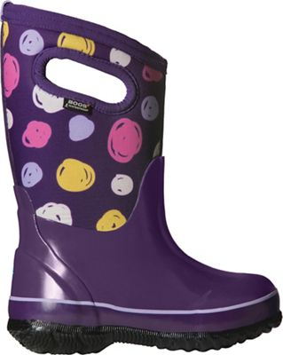 Bogs Youth Classic Sketched Dots Boot - Purple Multi