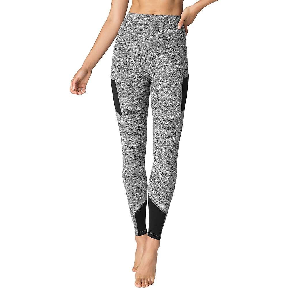 Beyond Yoga Women's Spacedye Refraction High Waisted Long Legging - Medium - Black / White Spacedye