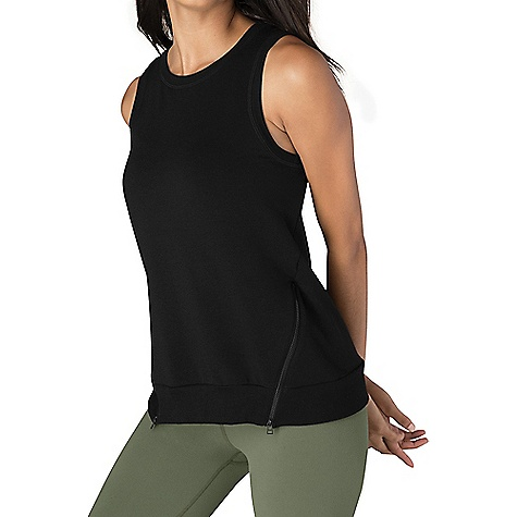 Beyond Yoga Women's Zip By Split Tank Top 3927409