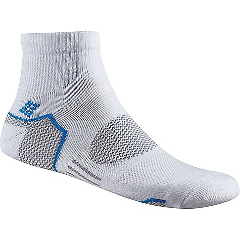 Columbia Men's Balance Point Walking Quarter Sock 3975064