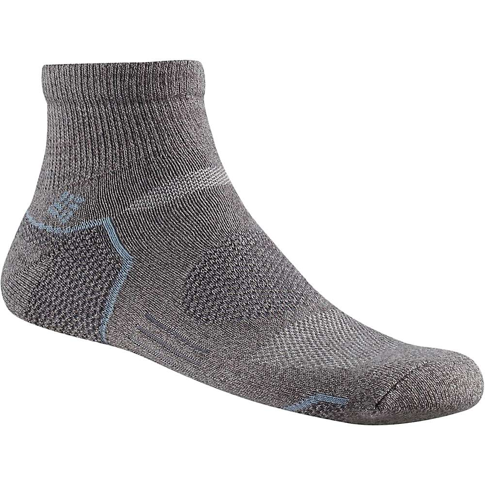 Columbia Men's Balance Point Walking Quarter Sock - One Size - Charcoal