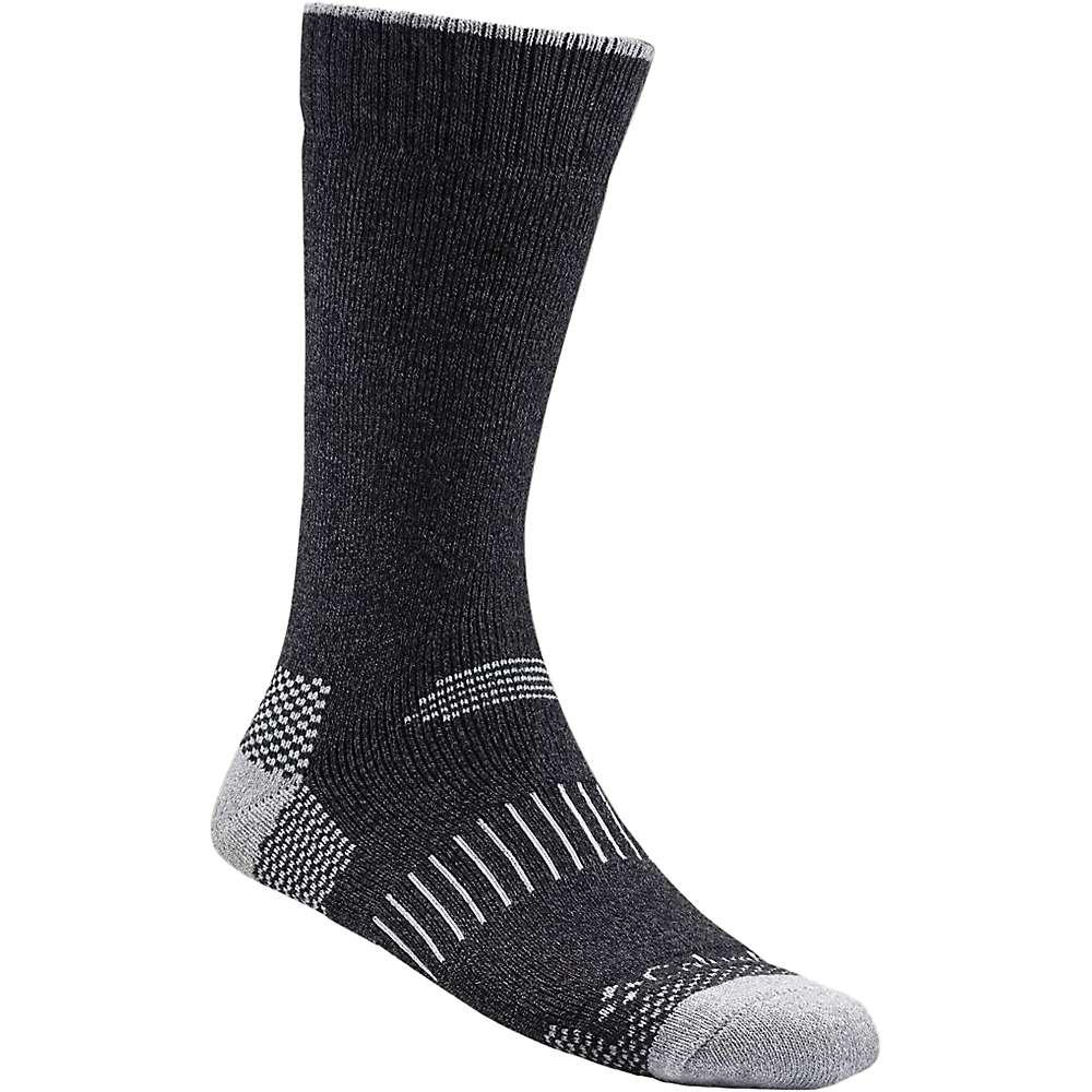 Columbia Men's Moisture Control Check Crew Sock - One Size - Black