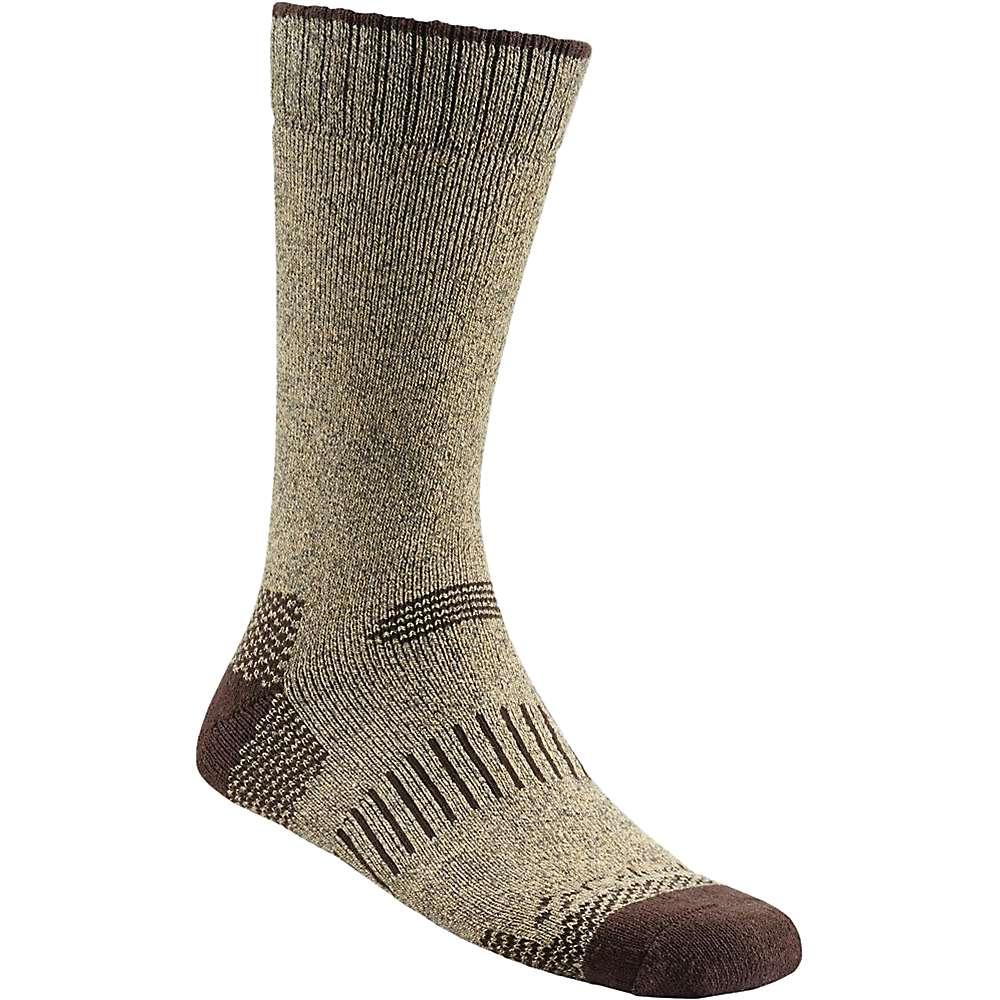 Columbia Men's Moisture Control Check Crew Sock - One Size - Khaki / Brown