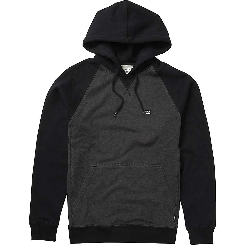 Billabong Men's Balance Pullover Hoody - XL - Black Heather