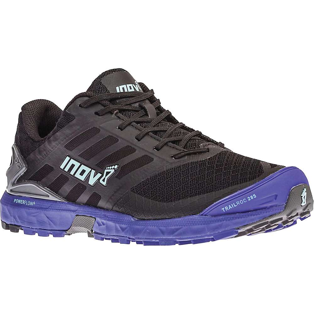 Inov8 Women's Trailroc 285 Shoe - 6.5 - Black / Purple / Blue