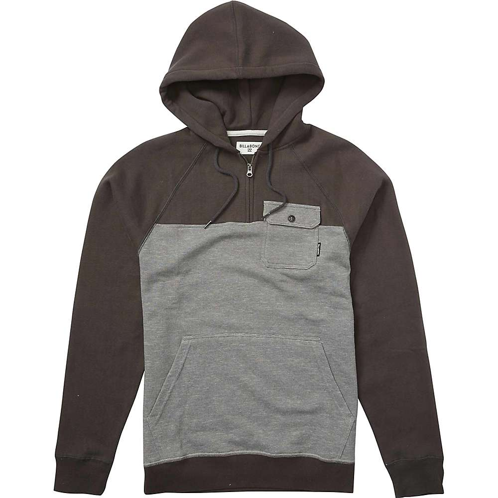 Billabong Men's Balance Half Zip Hoody - XL - Charcoal Heather